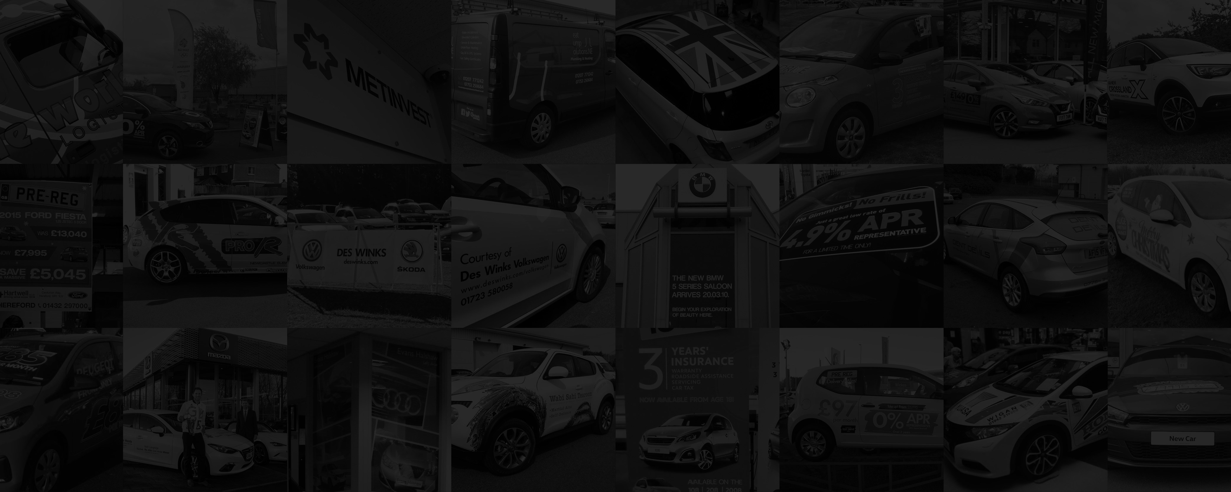 Vehicle graphics from DVLC
